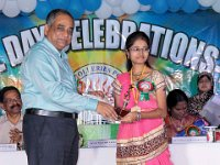 Prize distribution to Student